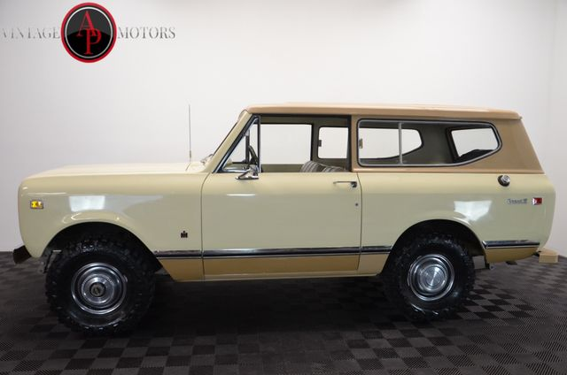 1973 International SCOUT II ONE OWNER BUILD SHEET 78K