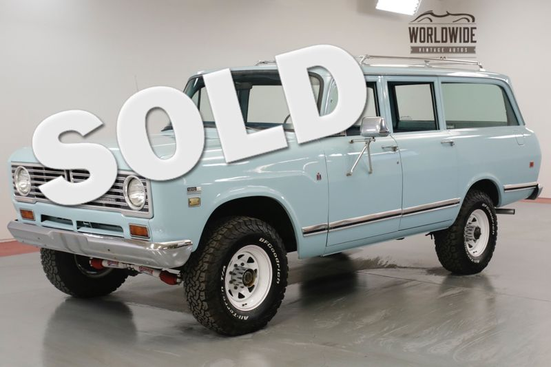 1973 International TRAVELALL 392 V8. PS. PB. AC! 4x4. RARE 5 SPEED. SCOUT  | Denver, CO | Worldwide Vintage Autos