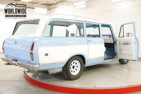 1973 International TRAVELALL 350 V8 AUTO CUSTOM PAINT ROOF RACK PB | Denver, CO | Worldwide Vintage Autos in Denver, CO