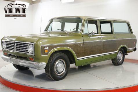 1973 International TRAVELALL TIME CAPSULE 61K ORIGINAL MILES AC AUTO SCOUT | Denver, CO | Worldwide Vintage Autos in Denver, CO