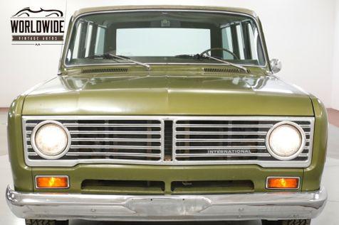 1973 International TRAVELALL TIME CAPSULE 61K ORIGINAL MILES AC AUTO SCOUT   Denver, CO   Worldwide Vintage Autos in Denver, CO