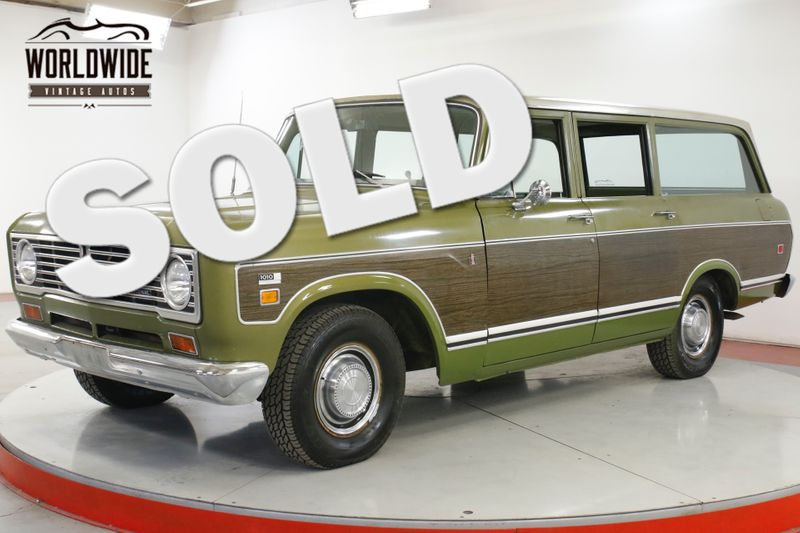1973 International TRAVELALL TIME CAPSULE 61K ORIGINAL MI AC AUTO SCOUT | Denver, CO | Worldwide Vintage Autos