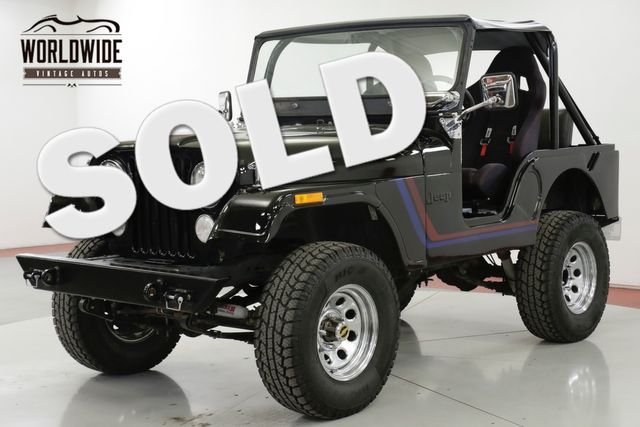 1973 Jeep CJ-5  304 V8 NOVAK 4SPEED HOLLEY OFF-ROAD CARB | Denver, CO | Worldwide Vintage Autos in Denver CO