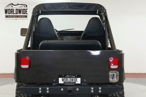 1973 Jeep CJ5 4X4 PS PB LIFTED RESTORED CONVERTIBLE 500 MI! | Denver, CO | Worldwide Vintage Autos in Denver, CO