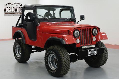 1973 Jeep CJ5 LIFTED BIKINI TOP 4X4 UPGRADES! | Denver, CO | Worldwide Vintage Autos in Denver, CO