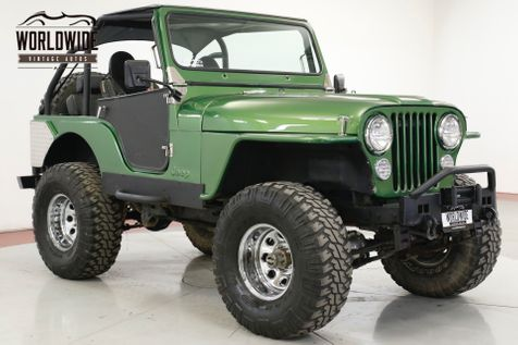 1973 Jeep CJ5  CHROME LIFT 35