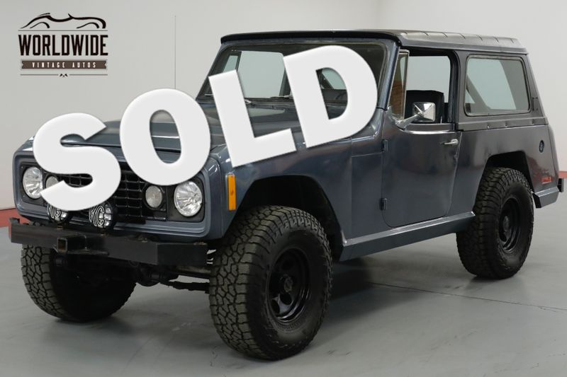1973 Jeep COMMANDO RESTORED 350 V8 400 AUTO PS  | Denver, CO | Worldwide Vintage Autos