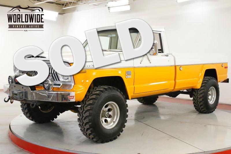 1973 Jeep J4000 61K ORIGINAL MI TIME CAPSULE V8 COLLECTOR  | Denver, CO | Worldwide Vintage Autos