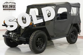1973 Jeep MUTT M151 RESTORED RARE COLLECTOR WINCH WILLYS  | Denver, CO | Worldwide Vintage Autos in Denver CO