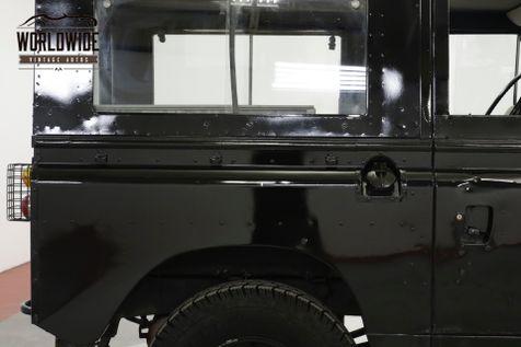 1973 Land Rover SERIES 4x4 CONVERTIBLE SEATS 7 OVERDRIVE DEFENDER  | Denver, CO | Worldwide Vintage Autos in Denver, CO