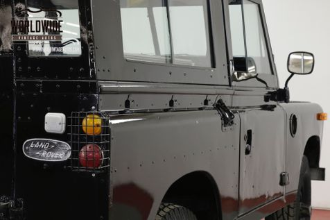 1973 Land Rover SERIES 4x4 CONVERTIBLE SEATS 7 OVERDRIVE DEFENDER  | Denver, CO | Worldwide Vintage Autos in Denver, CO