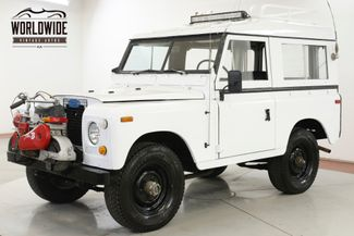 1973 Land Rover DEFENDER RARE 4X4 WITH RARE MINI-BIKE LED RACK | Denver, CO | Worldwide Vintage Autos in Denver CO
