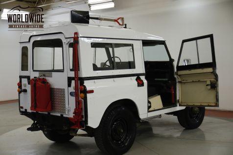 1973 Land Rover DEFENDER RARE 4X4 WITH RARE MINI-BIKE LED RACK   Denver, CO   Worldwide Vintage Autos in Denver, CO