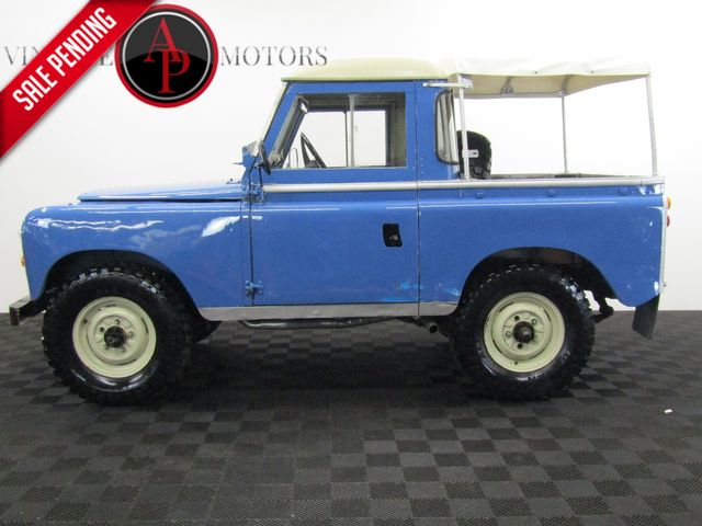 1973 Land Rover Series III 4 CYLINDER TURBO 4 SPEED