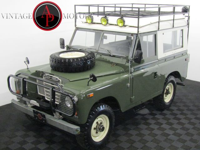 1973 Land Rover SERIES 3 PERKINS DIESEL W/ OVERDRIVE