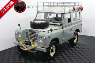 1973 Land Rover SERIES III REBUILT MOTOR TRANS W/ OVERDRIVE in Statesville, NC 28677