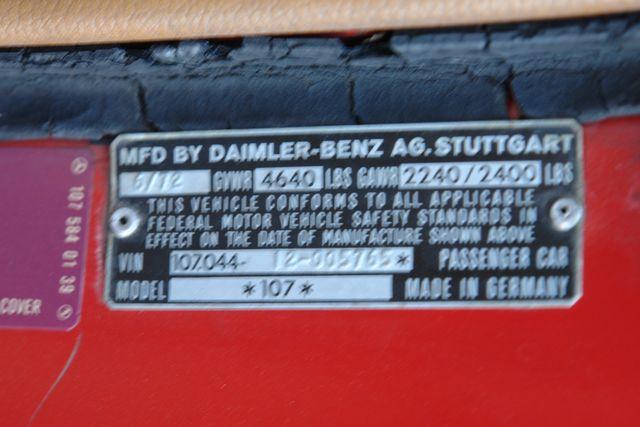 1973 Mercedes 450SL Phoenix, AZ 19