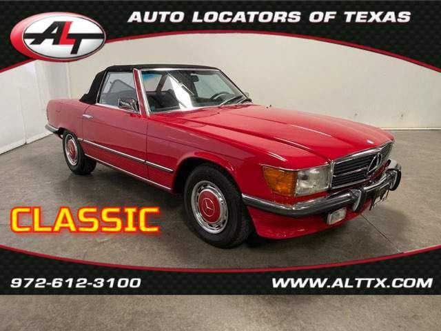 1973 Mercedes 450SL in Plano, TX 75093