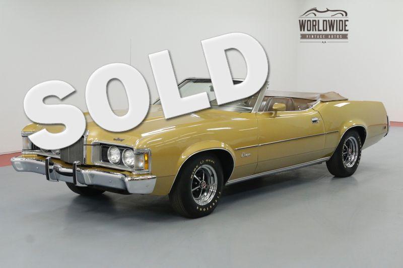 1973 Mercury Cougar XR-7 CONVERTIBLE 351CJ 4 SPEED   Denver, CO   Worldwide Vintage Autos