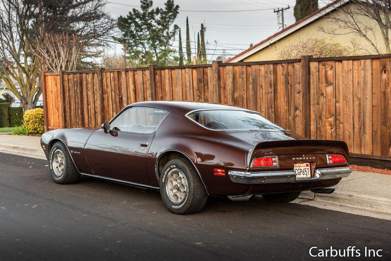 1973 Pontiac Formula 400    Concord, CA   Carbuffs in Concord, CA