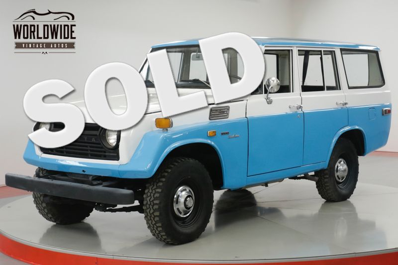 1973 Toyota FJ55  RESTORED TO STOCK! 4X4. GREAT COLOR COMBO.    Denver, CO   Worldwide Vintage Autos