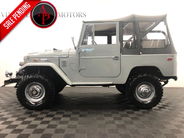 1973 Toyota LAND CRUISER FJ40 RESTORED LIFTED WINCH
