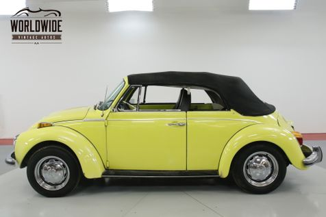 1973 Volkswagen BEETLE CONVERTIBLE HARTZ CANVAS TOP  | Denver, CO | Worldwide Vintage Autos in Denver, CO