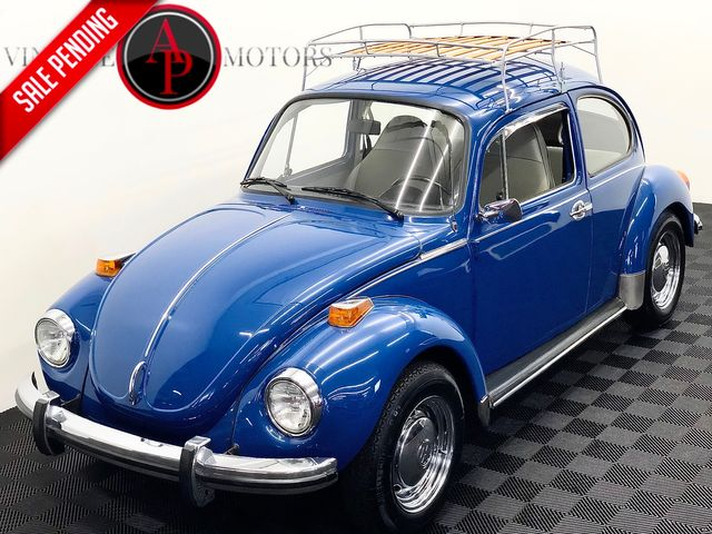 1973 Volkswagen BEETLE 71,000 ORIGINAL MILES CHROME ACCENTS
