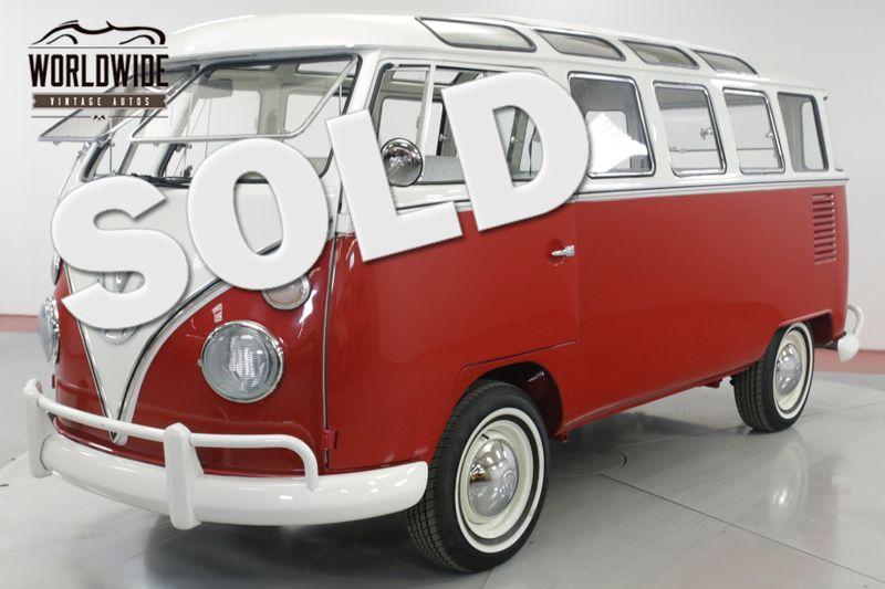 1973 Volkswagen BUS 23 WINDOW VW MICROBUS NUT AND BOLT RESTORED   Denver, CO   Worldwide Vintage Autos