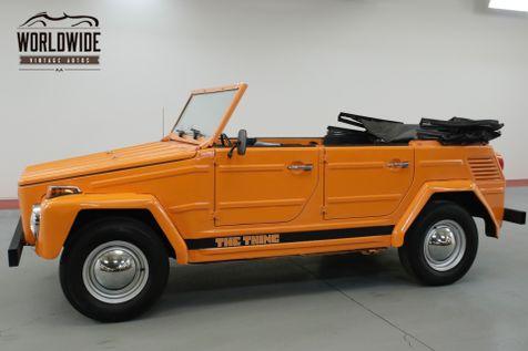 1973 Volkswagen THING  DRY TEXAS CONVERTIBLE. RARE. 44K MILES!    Denver, CO   Worldwide Vintage Autos in Denver, CO