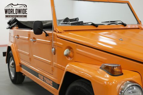 1973 Volkswagen THING  DRY TEXAS CONVERTIBLE. RARE. 44K MILES!  | Denver, CO | Worldwide Vintage Autos in Denver, CO