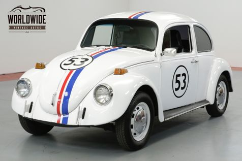 1973 Volkswagen BEETLE HERBIE THE LOVE BUG. MOVIE CAR. COLLECTOR. | Denver, CO | Worldwide Vintage Autos in Denver, CO