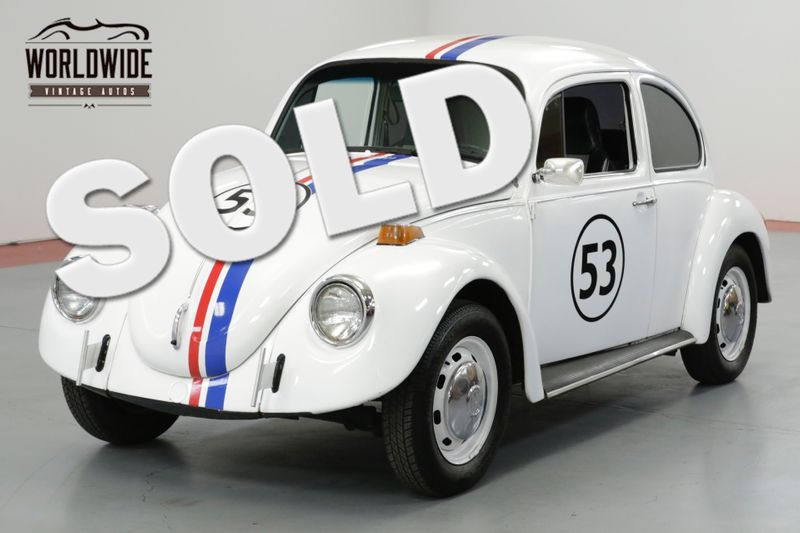 1973 Volkswagen BEETLE HERBIE THE LOVE BUG. MOVIE CAR. COLLECTOR. | Denver, CO | Worldwide Vintage Autos