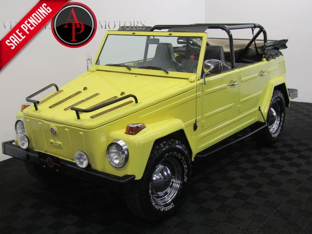 1973 Vw Thing RARE OPTIONED AND RESTORED