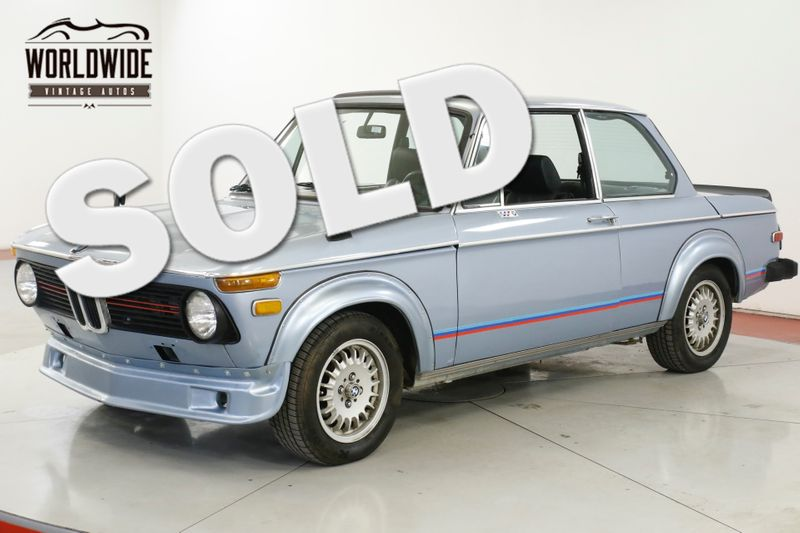 1974 BMW 2002 Ti TRIBUTE MANUAL AZ CAR LOW MILES 5SPD RARE | Denver, CO | Worldwide Vintage Autos