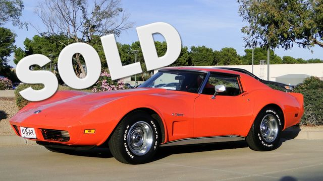 1974 Chevrolet CORVETTE  T-TOP COUPE TV CAR! Phoenix, Arizona