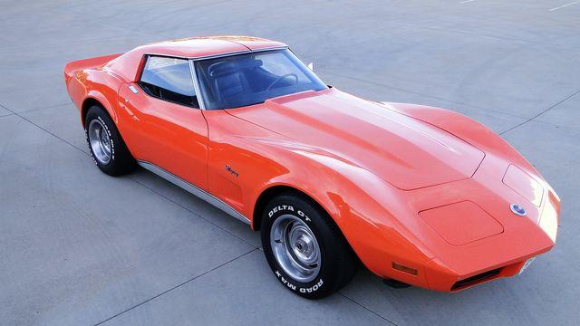 1974 Chevrolet CORVETTE  T-TOP COUPE TV CAR! Phoenix, Arizona 18