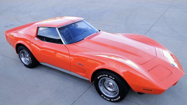 1974 Chevrolet CORVETTE  T-TOP COUPE TV CAR! Phoenix, Arizona 22