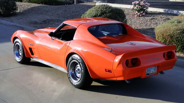 1974 Chevrolet CORVETTE  T-TOP COUPE TV CAR! Phoenix, Arizona 9