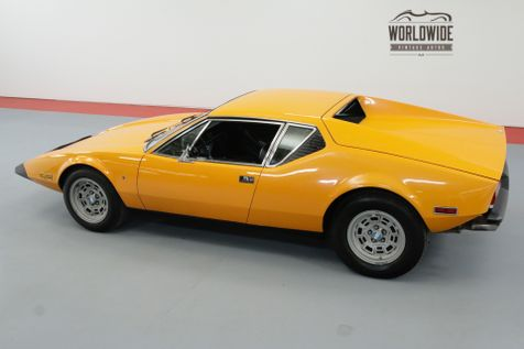 1974 De Tomaso PANTERA 5.8 LTR 351 CLEVELAND 4 SPEED MANUAL | Denver, CO | Worldwide Vintage Autos in Denver, CO