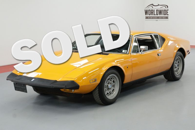 1974 De Tomaso PANTERA 5.8 LTR 351 CLEVELAND 4 SPEED MANUAL | Denver, CO | Worldwide Vintage Autos