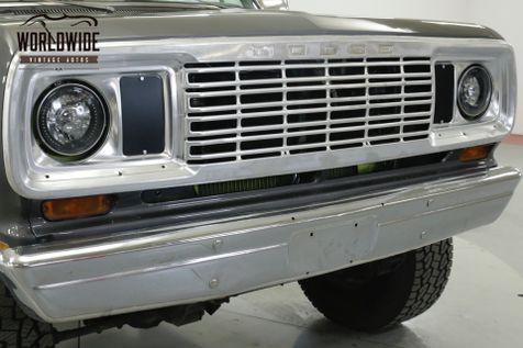 1974 Dodge W100 W100 360 V8 4X4 PS PB PRE SMOG MUST SEE!    Denver, CO   Worldwide Vintage Autos in Denver, CO