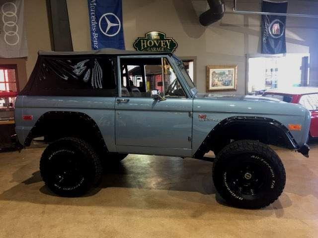 1974 Ford Bronco Frame off Restoration
