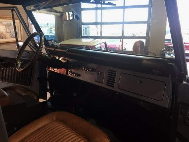 1974 Ford Bronco Frame off Restoration in Boerne, Texas 78006