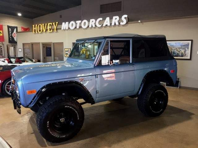 1974 Ford Bronco Frame off Restoration in Boerne, Texas 78006
