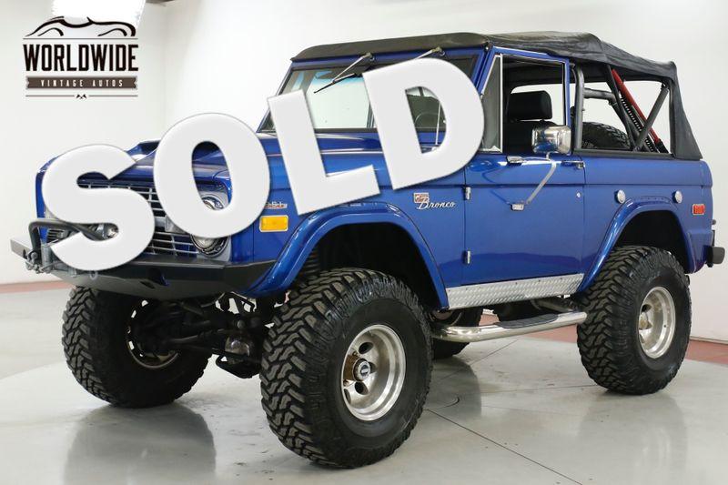 1974 Ford BRONCO  $65K HIGH DOLLAR BUILD. 351 V8 4WDISC PS PB | Denver, CO | Worldwide Vintage Autos