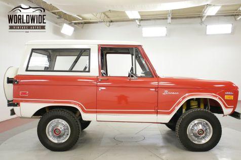 1974 Ford BRONCO EXTENSIVE RESTORED UNCUT 351 V8 PS PB 4X4    Denver, CO   Worldwide Vintage Autos in Denver, CO