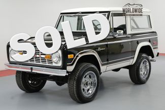 1974 Ford BRONCO TWO OWNERS RESTORATION $30K PAINT/BODY | Denver, CO | Worldwide Vintage Autos in Denver CO
