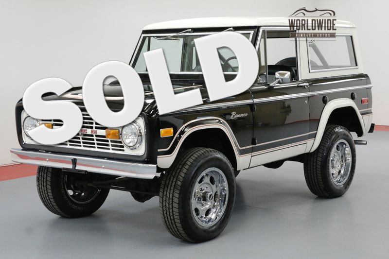 1974 Ford BRONCO TWO OWNERS RESTORATION $30K PAINT/BODY | Denver, CO | Worldwide Vintage Autos
