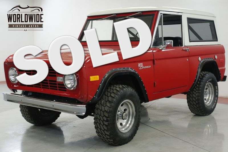 1974 Ford BRONCO  302 V8 PS CONVERTIBLE 4x4 LIFT MUST SEE | Denver, CO | Worldwide Vintage Autos